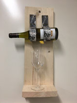 Wijnplank one bottle
