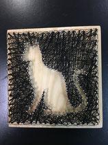 String-art kat