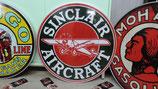 Sinclair Aircraft Deco Schild Flugzeug Dekoration Deco Halle Benzin Garage