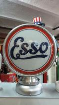 Esso Aluminium-Globe/Lampe Sehr hochwertig Lampe aus Metall.