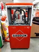 Gasolin Emaille Ölkabinett 40/50er Jahre Original Voll-Emailliert (keine Aufkleber)
