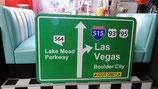 Las Vegas Interstate/Highway Schild