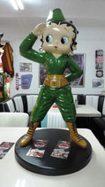 "Betty Boop Original ""Soldier""  GFK Figur"