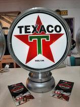 Texaco Aluminium-Globe/Lampe Sehr hochwertig aus Metall US-Dekoration