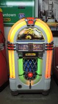 """Wurlitzer Jukebox  Elvis Look """"weiß"""" One More Time 1015  Musikbox CDM 12 Player"""