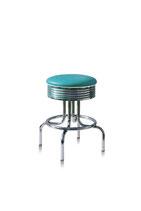 1 Diner-Barhocker BS-28-66 turquoise