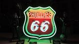 Phillips 66 Leuchtschild