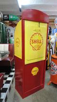Shell Antik Ölkabinett 40/50er Jahre Original mit Schlüssel komp. Restauriert