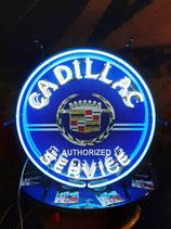 Neon Werbung Cadillac Service Neon Schild Reklame Werbeschild Garage