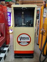 Veedol Emaille Ölkabinett 40/50er Jahre Original Voll-Emailliert (keine Aufkleber)
