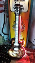 "Jim Beam Gitarre Neon ""EINZELSTÜCK"""