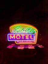 Bel Air Motel US Leuchtschild Neon Werbung Gastronomie Licht Reklame
