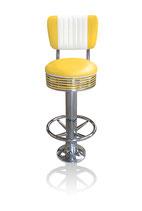 1 Diner-Barhocker BS-27-CB gelb