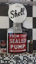 Shell Pumpe Gasoline Emailleschild