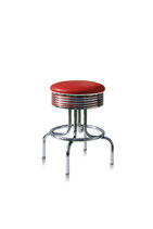 1 Diner-Barhocker BS-28-66 red