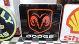 Dodge Logo Alu-Schild US-Car Garage Halle Retro Schild Dekoration