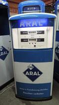 Tanksäule Original Aral 60/70er Jahre Salzkotten Zapfsäule Deko Auto Halle