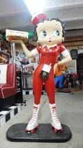 Betty Boop Scater-Girl mit Tablett - Figur