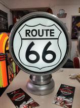 Route 66 Aluminium-Globe/Lampe sehr hochwertig Amerika Highway Globe