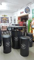 Sitzgarnitur 4/teilig Ruhrpott & Stehtisch/Ölfass Sonderangebot