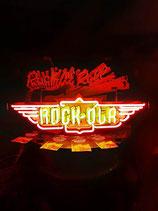 Rock Ola Jukebox USA Neon Werbung Leuchtschild Jukebox Licht Neonreklame