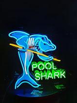 Pool Billard Neon Reklame Werbung US Deco Leuchtschild Sportsbar Dekoration