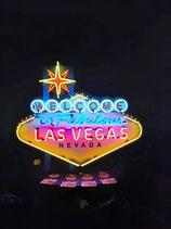 Las Vegas Neon Riesiges USA XXL Leuchtschild Reklame Casino Werbung