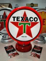 Texaco Gasoline  US-Globe USA-Lampe Deko Tanksäulen Werbung Tank Reklame