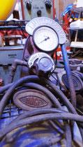 Antik Boge Luftmesser & Kompressor 30/40er Jahre Oldtimer Garage Halle Deko