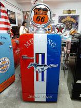 Mustang Retro Design Kühlschrank Bosch KSL US-Car Fridge Auto Garage