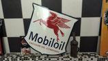 Mobiloil Gasoline Emailleschild