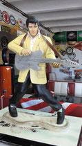 The King mit Gitarre -  GFK Figur