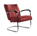 1 Diner Lounge Sessel LC-01 LTD (ruby)