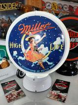 Miller US-Globe USA-Lampe Amerika Dekoration Champagner of Beer