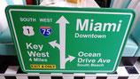 Miami Beach Interstate/Highway Schild