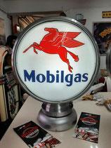 Mobilgas Globe Aluminium/Lampe (sehr hochwertig) Licht Reklame Dekoration