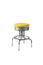 1 Diner-Barhocker BS-28-66 yellow