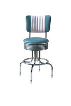 1 Diner-Barhocker BS-28-66CB blue
