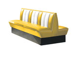 1 Diner-Bank HW-180DB gelb