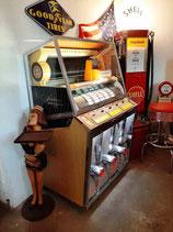 Seeburg KD 200 Jukebox Baujahr 1957 Musikbox komplett restauriert Musik-Box
