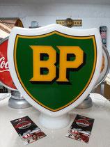 BP Globe aus schwerem Glas sehr hochw. Deko Tankstelle Oldtimer Halle