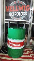 Castrol Stehtisch/Ölfass Tonne