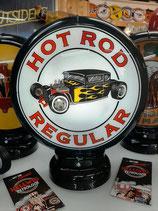 Tanksäulen Globes Hot Rod Amerika Deko V8 Garage Auto Halle Gasoline