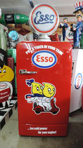 Bosch KDL Retro Kühlschrank im Esso Tankstellen-Design. Mega Cool!!