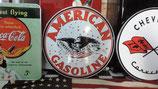 American Gasoline Schild (rund)