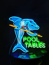 Pool Tables Billard Neon Reklame Werbung Deko Leuchtschild Billard Halle