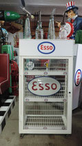 Esso Öldosen-Schrank auf Rollen 70/80er Jahre Ölkabinett wie Neu Eyecatcher