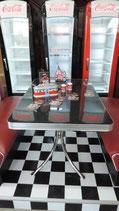 Diner-Tisch (1 Stück) Modell TO-36  Modellbeispiel (blackstone)