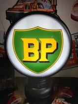 BP Aluminium-Globe/Lampe hochwertig aus Metall Deko Tankstelle Garage