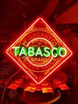 Tabasco Neon Werbung Reklame USA Leuchtschild Küchen XXL Dekoration